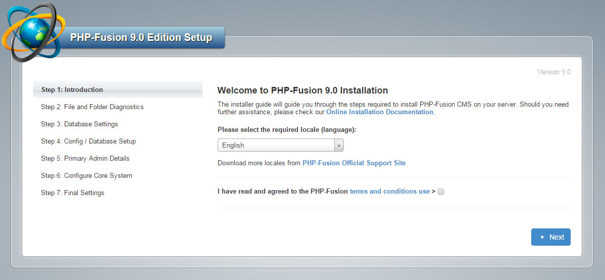 PHP-Fusion 9 RC 1 Available