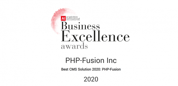 PHP-Fusion - The Best CMS Solution 2020